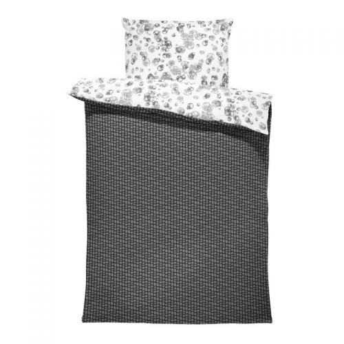Flora-L bedsheet innumerable fibers black