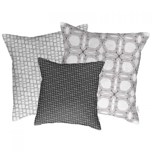 Linen cushion covers Aspen wood fibers