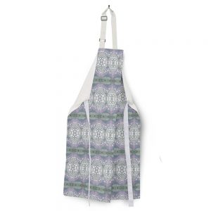 Linen apron – Flower stem