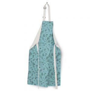 Linen apron – Leaf veins