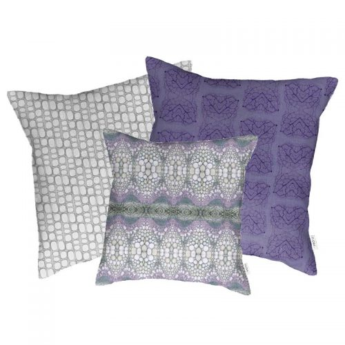 Flora-L cushion cover flower stem in combination with leaf veins and innumerable fiber cushions
