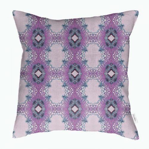 Cushion cover stem fibers
