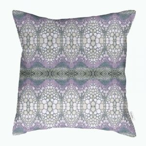 Linen cushion cover – Flower stem