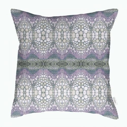 Cushion cover Flowerstem blue