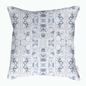 Linen cushion cover – Root organelle