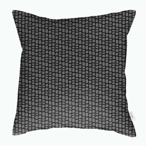 Cushion cover innumerable fibers black