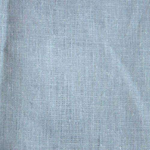 Linen with grey-blue print