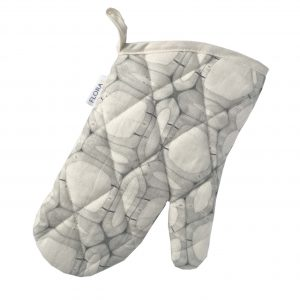 Linen oven glove – Woody walls