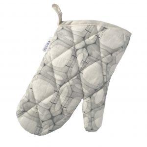 Linen oven glove – Woody walls