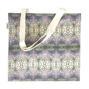 Linen tote bag — Flower stem