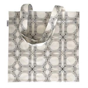 Linen tote bag — Woody walls