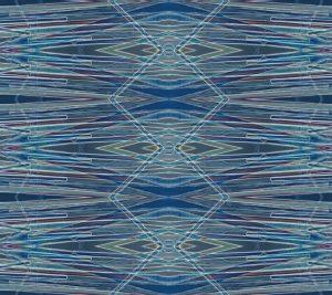 Flax fiber cell pattern