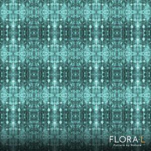 Flax root pattern aqua