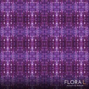 Flax root pattern purple