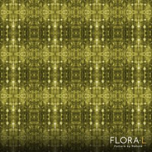 Flax root pattern yellow