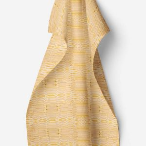 Linen kitchen towel – Birch bark