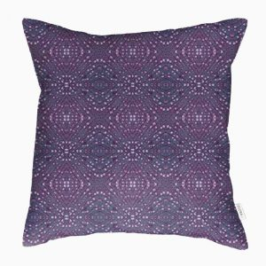 Linen cushion cover – Heather woody