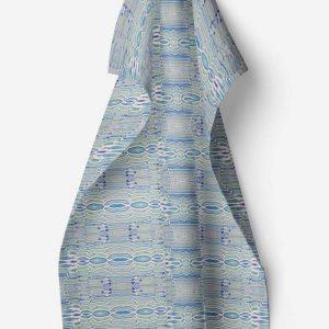 Linen kitchen towel – Birch bark