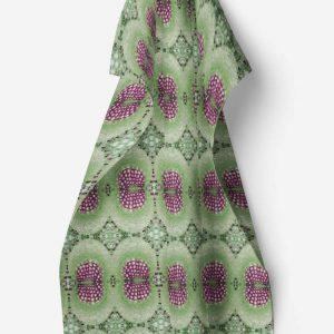 Linen kitchen towel – Dandelion