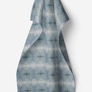 Linen kitchen towel – Maple leaf veins