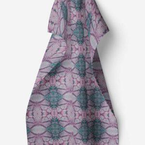 Linen kitchen towel – Poppy capsule