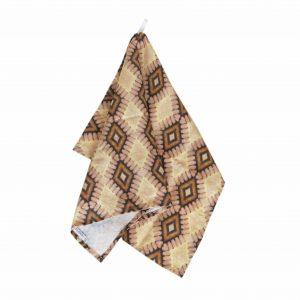 Linen kitchen towel – Fritillaria ovules