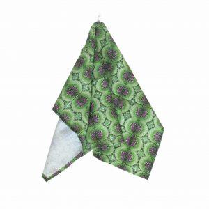 Linen kitchen towel – Dandelion leaf vein