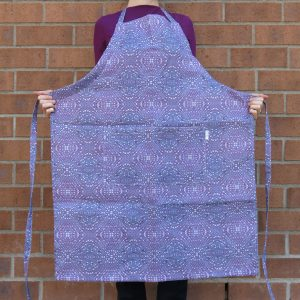 Linen apron – Heather woody