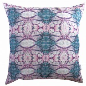 Linen cushion cover – Poppy capsule
