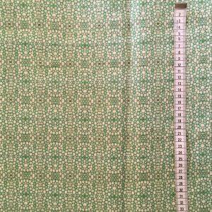 Linen fabric – Linnea stem pith green