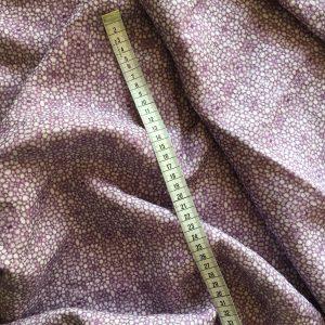 Linen fabric – Linnea stem pith purple