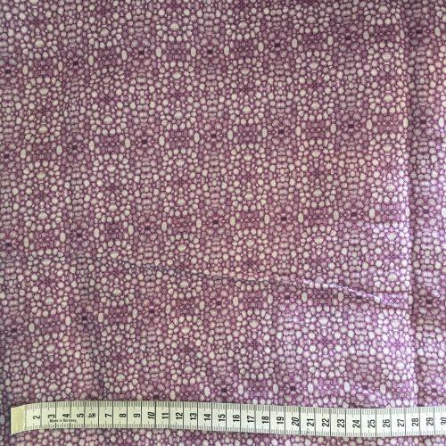 Linen fabric linnea stem pith purple