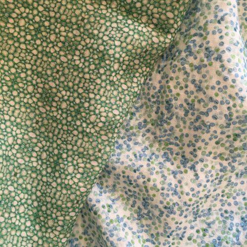 Linen fabrics linnea stem pith with cypress spores fabric